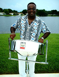 Coco Bean Steel Drum Player